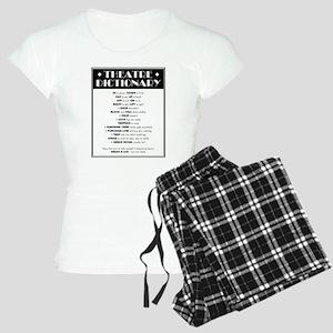 Theatre Dictionary Women's Light Pajamas