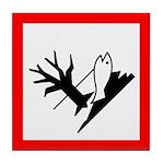 Environmental Hazard Pictogram Tile Coaster