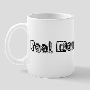 Real Men Do Yoga Mug