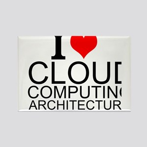 I Love Cloud Computing Architecture Magnets