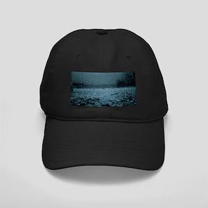 Rain drops Black Cap with Patch