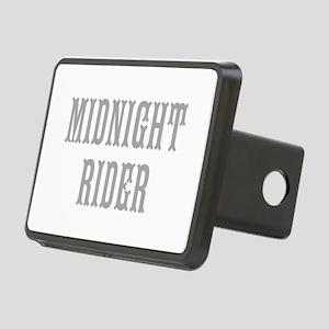MIDNIGHT RIDER Rectangular Hitch Cover