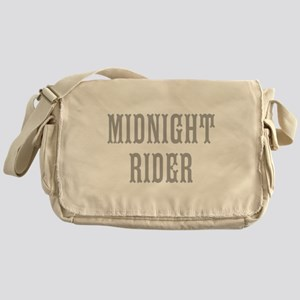 MIDNIGHT RIDER Messenger Bag