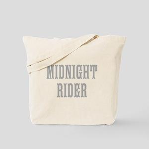 MIDNIGHT RIDER Tote Bag