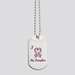 I Love My Daughter - Breast Cancer Heart Ribbon Do