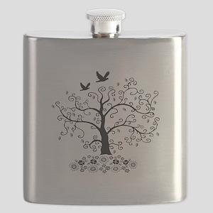 Arbor Floral Flask