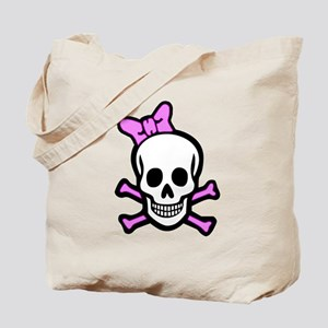 Ms. Skull & Crossbones Tote Bag