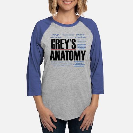 Grey's Anatomy Quotes Baseball Tee