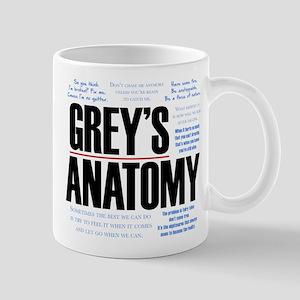 Grey's Anatomy Quotes 11 oz Ceramic Mug
