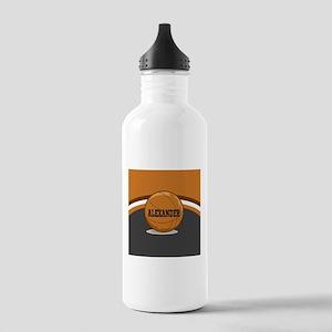 Stylish Custom Basketball Theme Stainless Water Bo