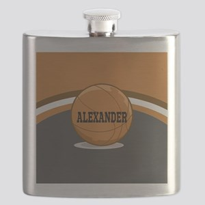 Stylish Custom Basketball Theme Flask