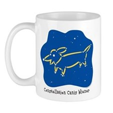 Dachshund constellation Mug