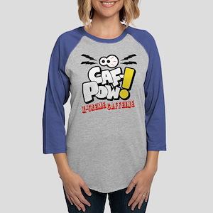 Caf-Pow X-Treme Caffeine Womens Baseball Tee