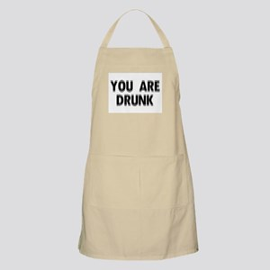 You are DRUNK BBQ Apron