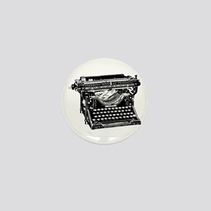 Vintage Typewriter Mini Button