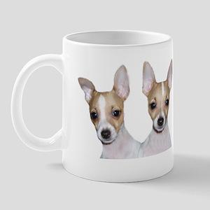 Tan & White Toy Fox Terrier Mug