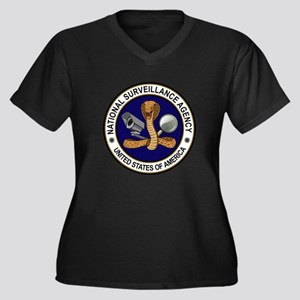 NSA (National Surveillance Agency) Plus Size T-Shi