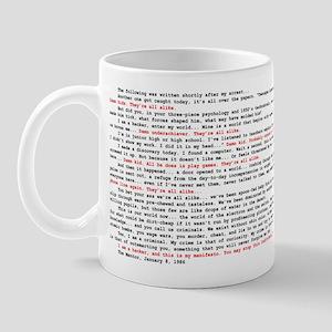 Hacker's Manifesto Mug