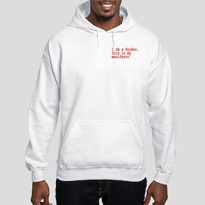 Hacker's Manifesto Hooded Sweatshirt