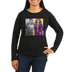Confidence Women's Long Sleeve Dark T-Shirt