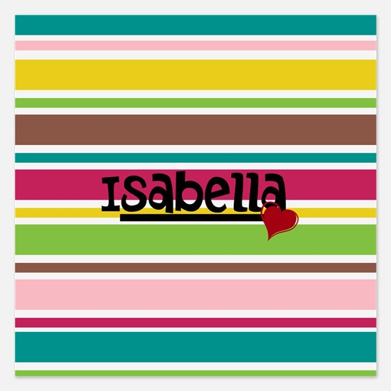 Trendy Modern Stripes - Customized 5.25 x 5.25 Fla