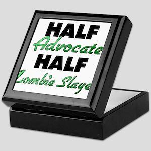 Half Advocate Half Zombie Slayer Keepsake Box