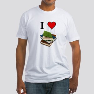 Books Fitted T-Shirt