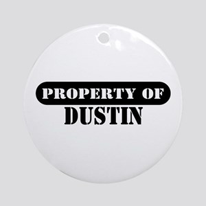 Property of Dustin Ornament (Round)