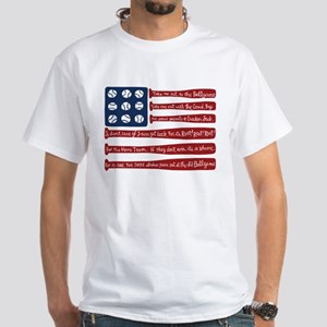 Baseball/flag T-Shirt