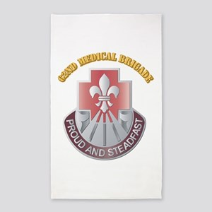 DUI - 62nd Medical Brigade with text 3'x5' Area Ru