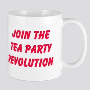 Join The Tea Party Revolution Mugs