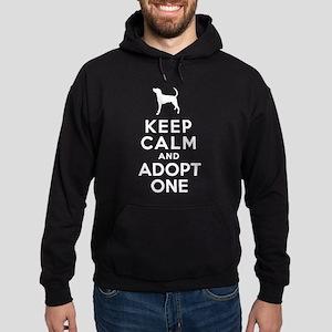 American Foxhound Hoodie (dark)