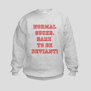 Normal Sucks Line Sweatshirt