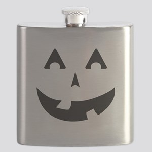 Goofy Pumpkin (Black) Flask