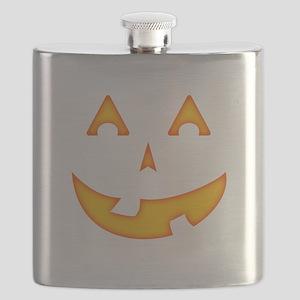 Goofy Pumpkin (Orange) Flask