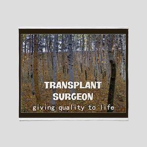 Transplant surgeon BLANKET Throw Blanket