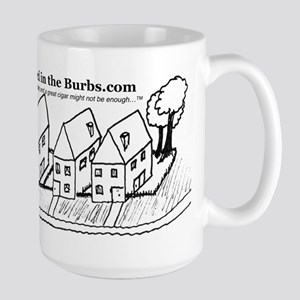 Street in the Burbs Mugs