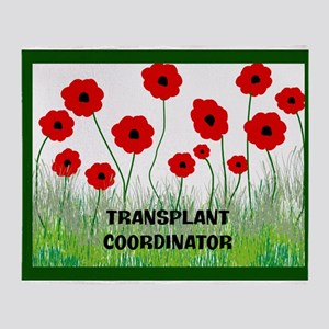 transplant coordinator blanket C Throw Blanket