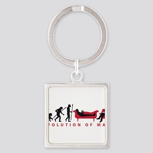 Evolution Therapist Psychologist Keychains