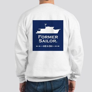 Former sailor sweatshirt