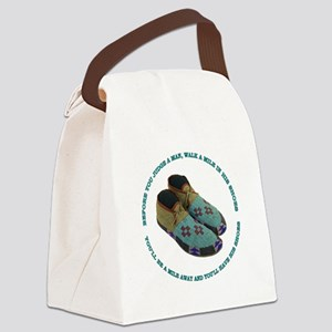 His Shoes Canvas Lunch Bag