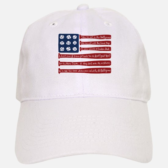 Baseball/flag Baseball Baseball Cap