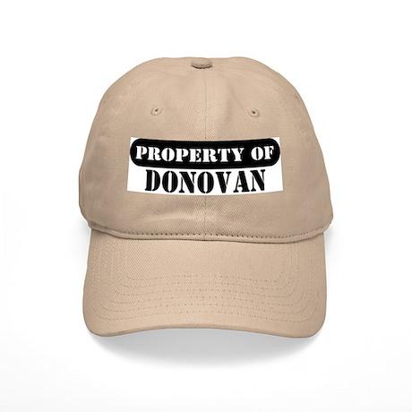 Property of Donovan Cap