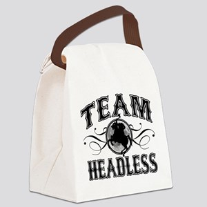 Team Headless Canvas Lunch Bag