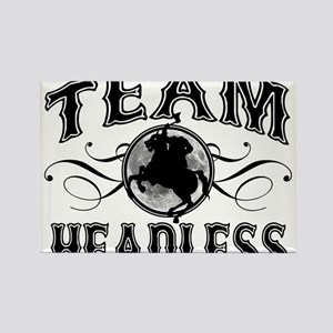 Team Headless Rectangle Magnet