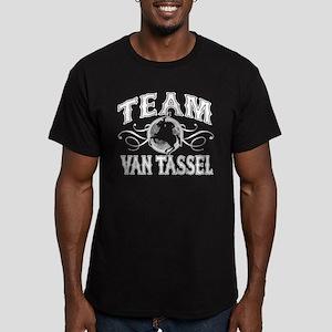 Team Van Tassel Men's Fitted T-Shirt (dark)