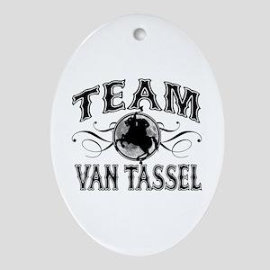 Team Van Tassel Ornament (Oval)