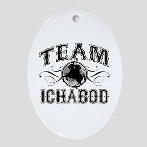 Team Ichabod Ornament (Oval)