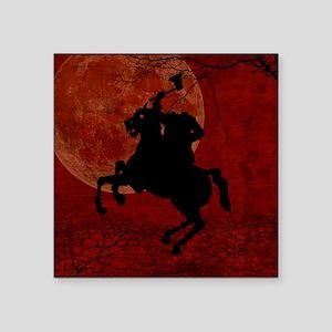 "Headless Horseman Square Sticker 3"" x 3"""