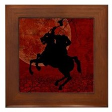 Headless Horseman Framed Tile